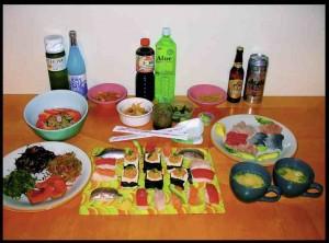 $150. Sushi party.
