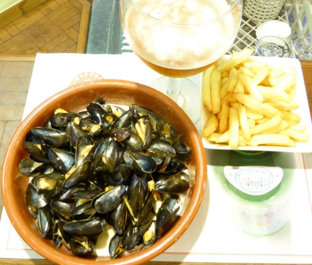 mussels & beer